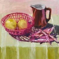 citroenen in mandje